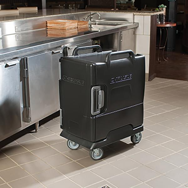 The Carlisle FoodService Products Cateraide™ IT End Loading Insulated Food Pan Carrier