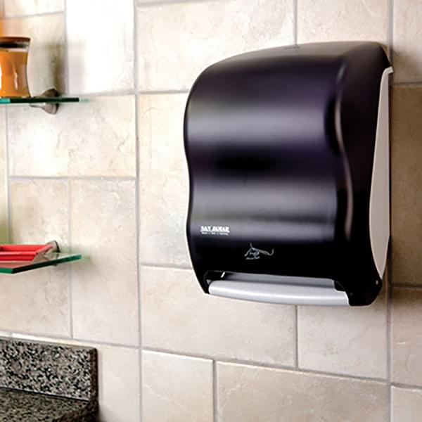 The San Jamar Smart System with IQ Sensor™ Towel Dispenser